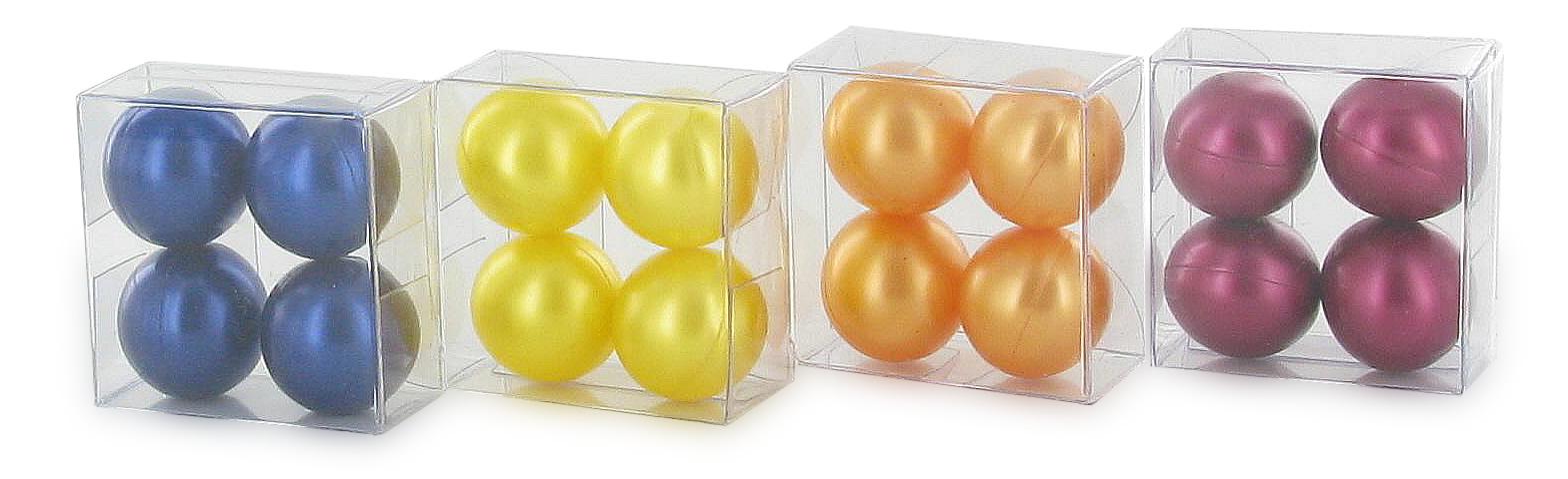 Conditionnement - Boîte 4 perles de bain